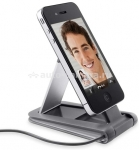 Док-станция для iPhone 4 и 4S Belkin Portable Video Stand, цвет grey (F8Z795cw)