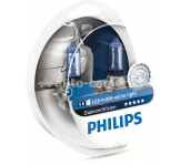 Галогенные лампы Philips H4 12v 60/55w Diamond Vision 12342DVS2 2 шт.