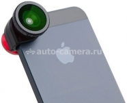 Комплект объективов для iPhone 5 / 5S / 5C Merlin Clip-on Lens Kit